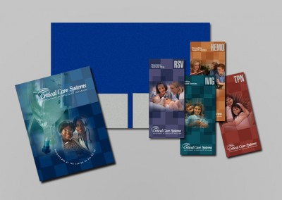 Critical Care Print Design