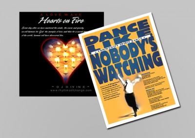 Dance Like Nobody's Watching Print Design