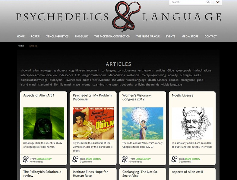 Psychedelics and Language