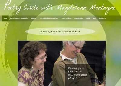 Poetry Circle with Magdalena