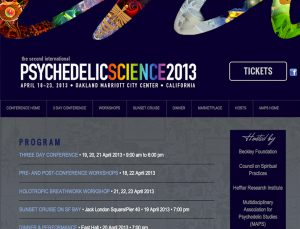 psycedelic science 2013