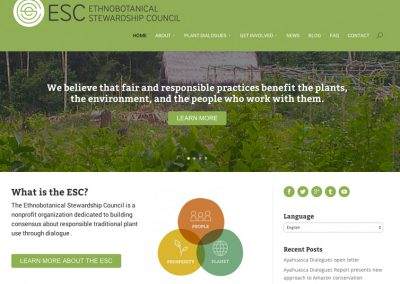 Ethnobotanical Stewardship Council