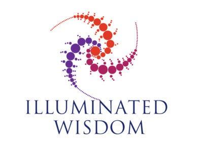 Iluminated wisdom logo design