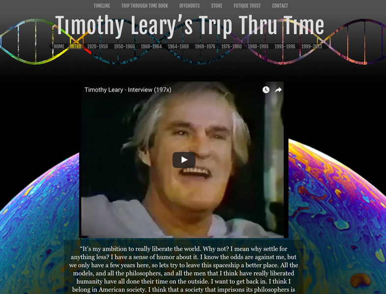 timothy learys trip thru time