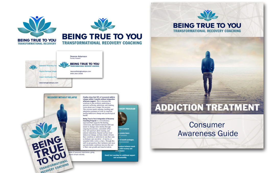 Being True to You logo and collateral